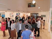VÍDEO: Expo, jóvenes y niños escuela de pintura