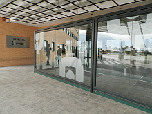 Entrada al Hospital Quirón . Torrevieja