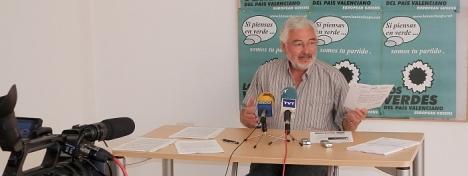 José Manuel Dolón. Los Verdes