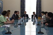 Recepción Delegación China