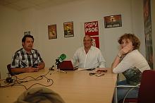 Ángel Sáez, en rueda de prensa