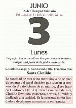 hoja calendario 3 junio 2013