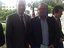 Soler, junto a Fabra (Foto RCNT)