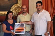 Momento de la entrega en el Casino de Torrevieja