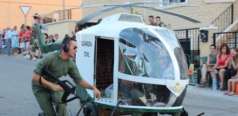 1º- Helicóptero Guardia Civil