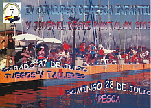 carttel concurso pesca infantil