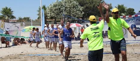 El I Torneo de Balonmano en la Playa constituyó todo un éxito
