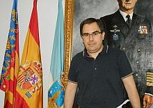 Joaquín Albaladejo se dispone a dar su rueda de prensa