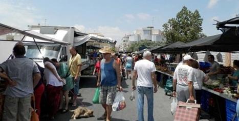Mercadillo de los viernes en Torrevieja