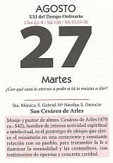 DIA 27 DE AGOSTO