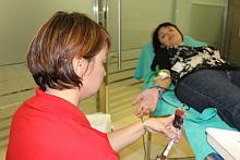 Donación en el Hospital de Torrevieja