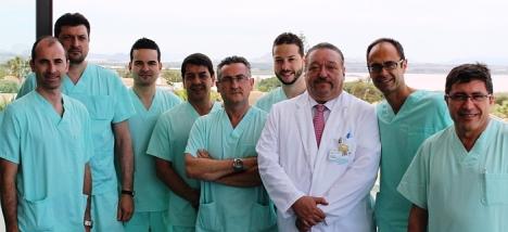 Equipo Cirugía Ortopédica y Traumatología