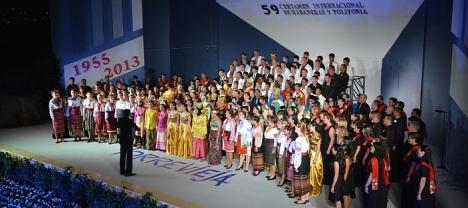 Todos los participantes, entonan la Habanera Obligada (27.7.2013)