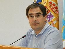 Joaquín Alabaladejo, portavoz del PP, en rueda de prensa el pasado viernes