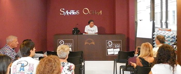Agustín Hurtado, durante su conferencia