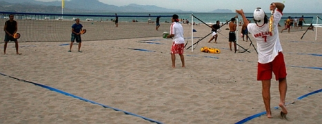 Padel Playa (Archivo)