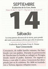 14 septiembre