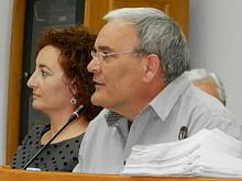 Ángel Saéz, portavoz G.M. Socialsita