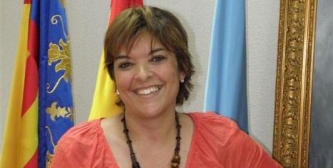 Lola Canales, pregoneras de las Fiestas de Torrevieja