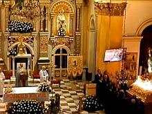 Interior del Templo de la Inmaculada, desde el Coro