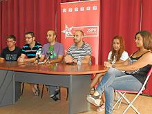Juventudes socialistas (F.Archivo)