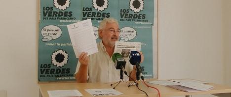 J.M. Dolón, en la rueda de prensa ofrecida el viernes 21