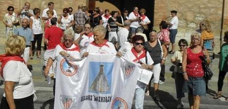 Los socios de la Peña del Athletic y los bilbainos torrevejenses celebran a su Patrona (Archivo)