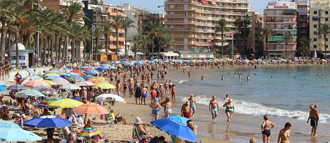 Playa del Cura el pasado fin de semana (R.Torregrosa)