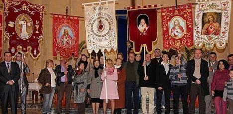 Imagen del Encuentro de Estandartes del Sagrado Corazón  2012