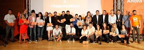 Ganadores de la Gala de la Juventus de la Diputación Provicnail de Alicante