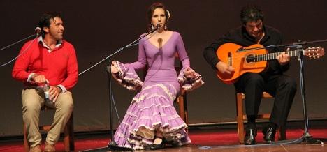 Marta González, cantaora - Gala 2012