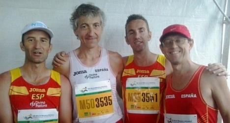 Equipo Español de marcha (45). oro en Brasil