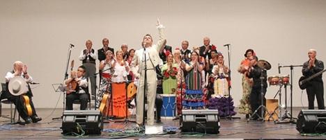 Momento de la Gala Torrevieja y sus artistas 2012