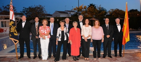 Trafalgar Day celebrated by Torrevieja's RNA and dignitaries from the Town Hall
