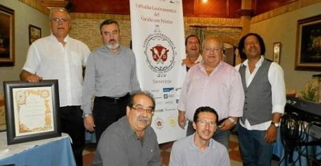 Miembros de la Cofradía durante su primer Capítulo