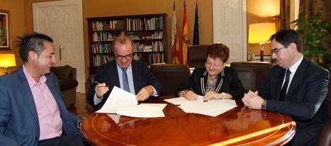 Firma convenio con HOSBEC