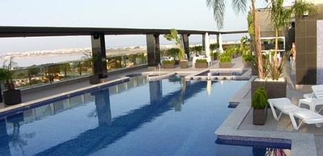 Terraza del Hotel Doña Monse, en el que tendrá lugar la jornada