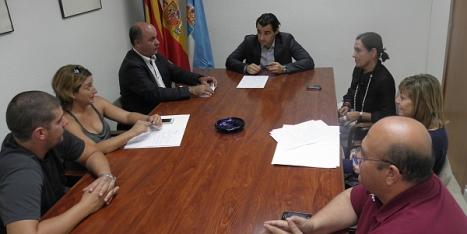 Reunión, ayer, de la Comisión Mixta