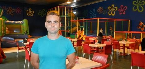 Daniel Murcia, qu ejunto con su hermano Eloy es el creador de Arena Park Torrevieja