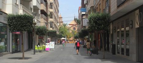 Calle comercial de Torrevieja