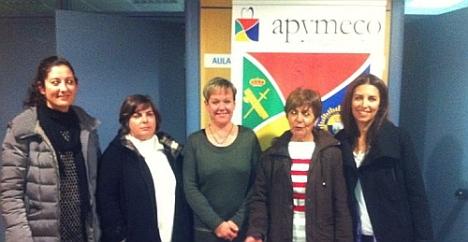 Nueva ejecutiva de Apymeco (Ausentes Karen Manzanas y Amalia Galant