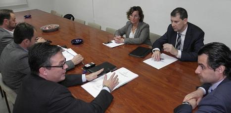 Reunión del Alcalde con los Directores Generales