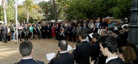 Celebración del Día de la Constitución 2012