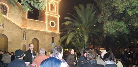 Celebración del Año Nuevo en Torrevieja