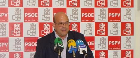 Antonio Ruiz, concejal del Grupo Municipal Socialista en Torrevieja
