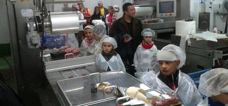 Los niños visitarán las dependencias de la fábrica