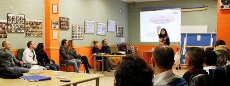 La psicóloga Aned Machado explicó el pasado sábado las bases del Proyecto GAEX 2014