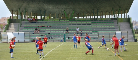 Equipo Internacionales, entrenando en Torreveija