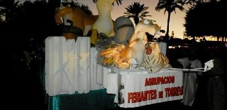 Carroza Disney de lso Feriantes. año 2013