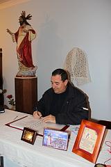 Firma Acta IV Encuentro de Estandartesl